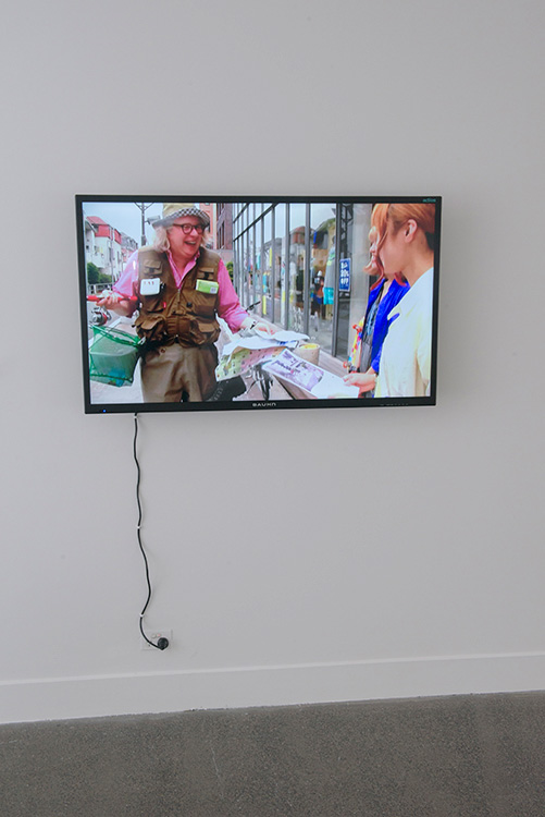 Kristen Sharp,  Spatial Dialogues - Behind the Scenes, Tokyo , 2012
