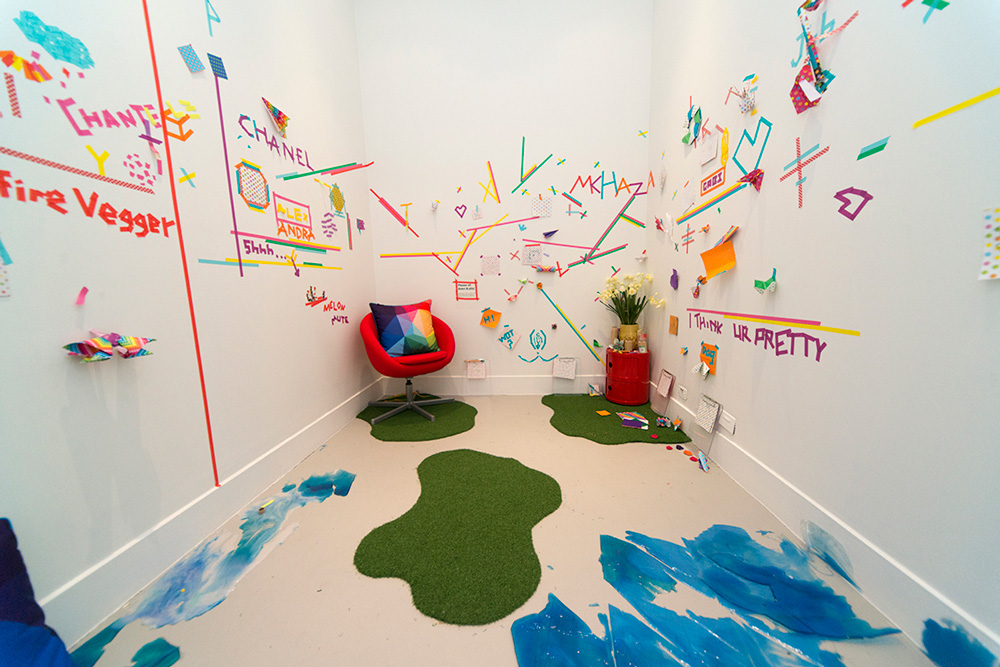 PLAYBOUR INC., Mobile Play,  2014, installation