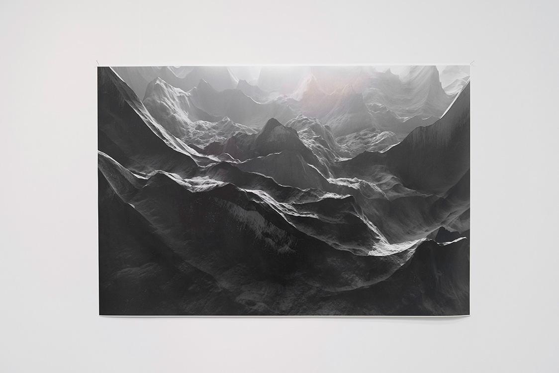 Cameron May, Seed ..., 2014, digital print on Canson Platine Fibre Rag