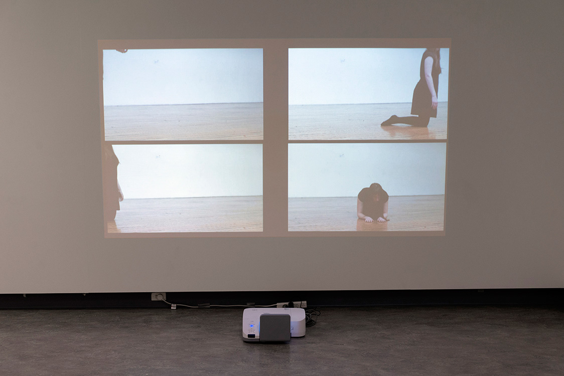Josephine Mead,  The Choreography of Making , 2014, video projection