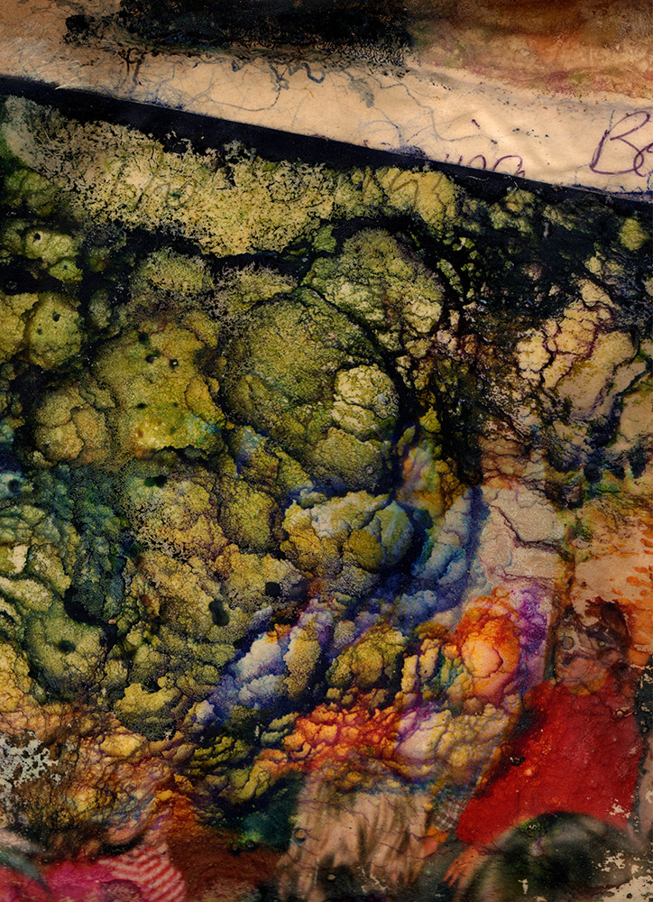 Raphaela Mazzone,  Found Damaged photograp h #5, 2014, Digital print
