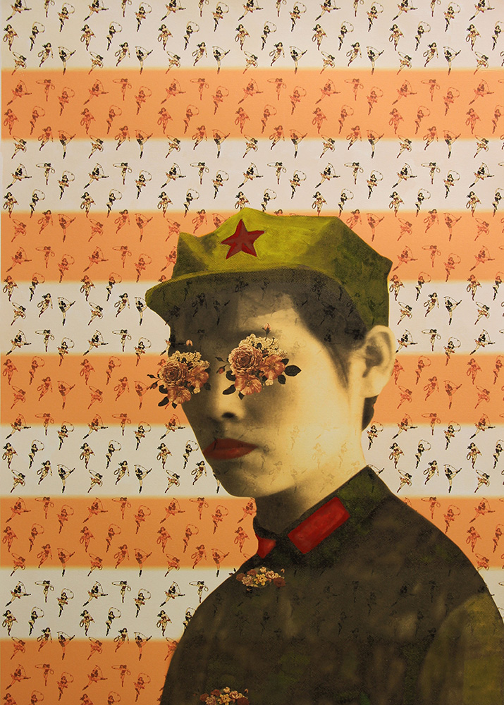 Ying Huang,  Programmed , 2014, Digital Print