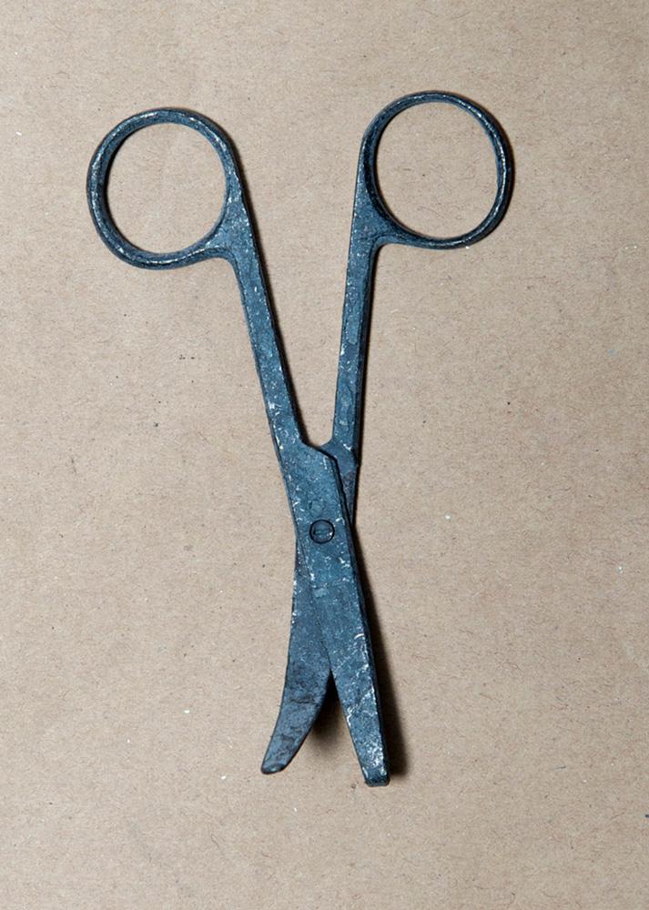 Lyndall Smythe,  Cremains Series - Scissors  , 2013