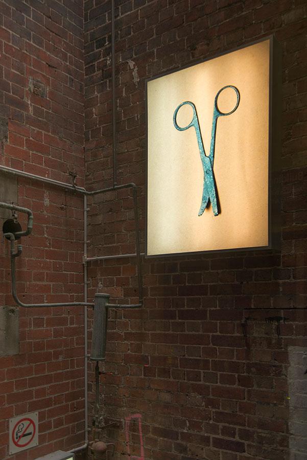 Lyndall Smythe,  Cremains Series  - Scissors, 2013