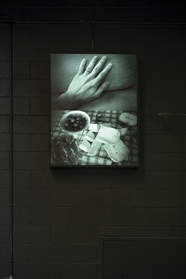 Jimmy Leung,  Ring and Bread,  2014