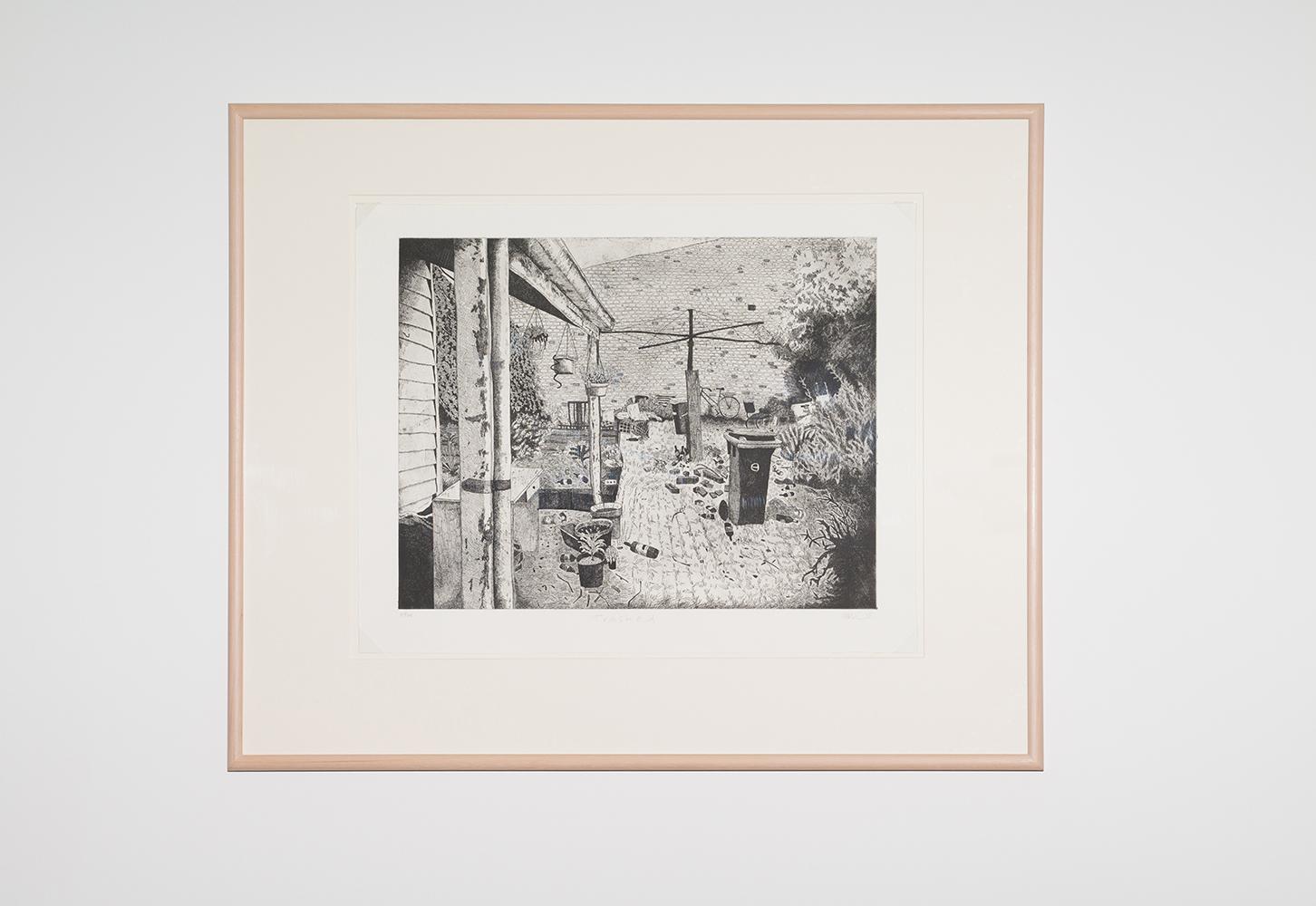 Carolyn Hawkins,  Trashed,  2015, etching, 69 x 54cm. Courtesy of Australian Print Workshop