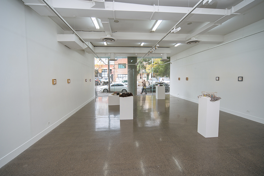 Judy Anderson,  They told me to honour him…,  2017, installation view
