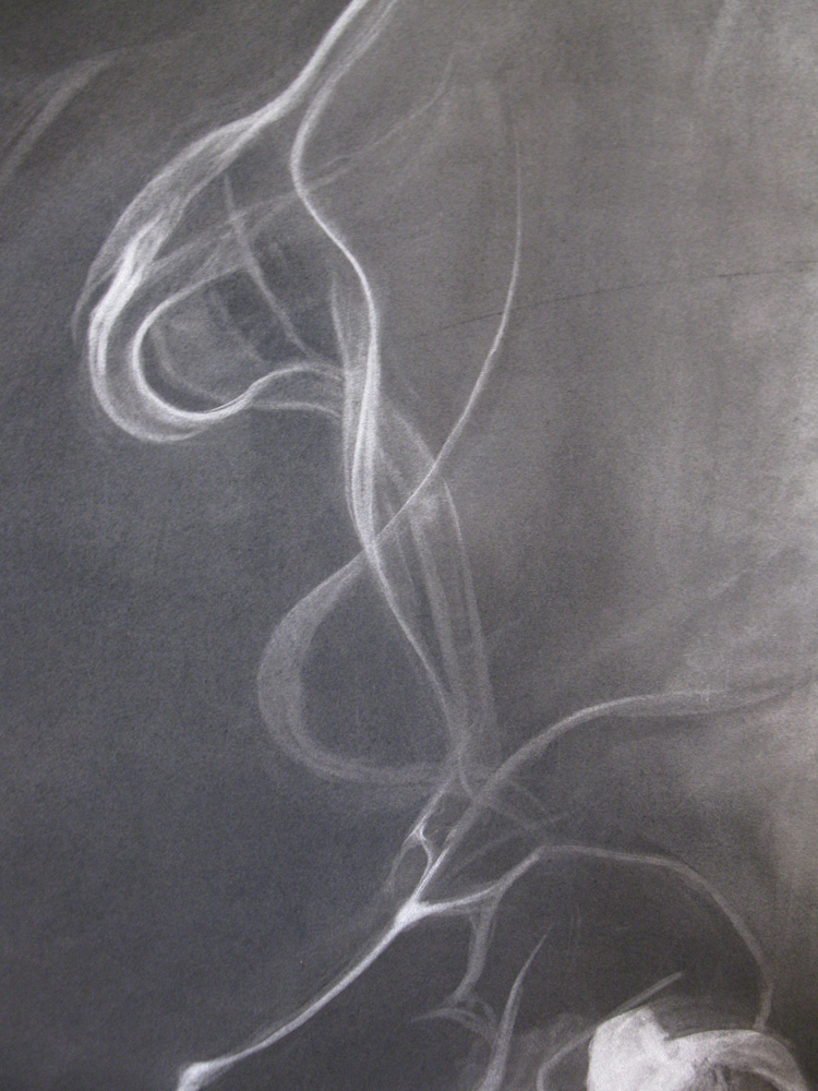 Tanya Harnett,  Untitled , 2011, Charcoal on Rives BFK