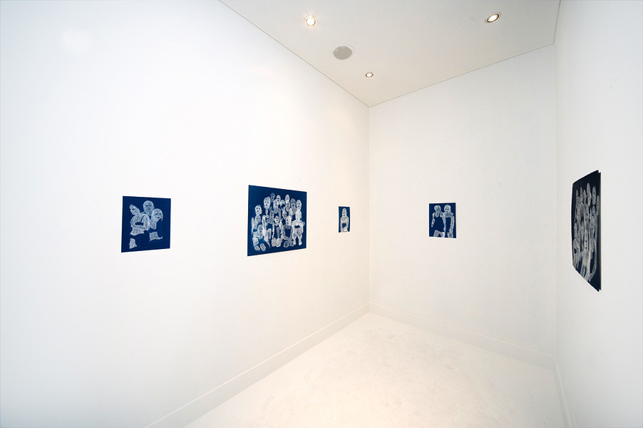 Erik Mark Sandberg Exhibition Installation