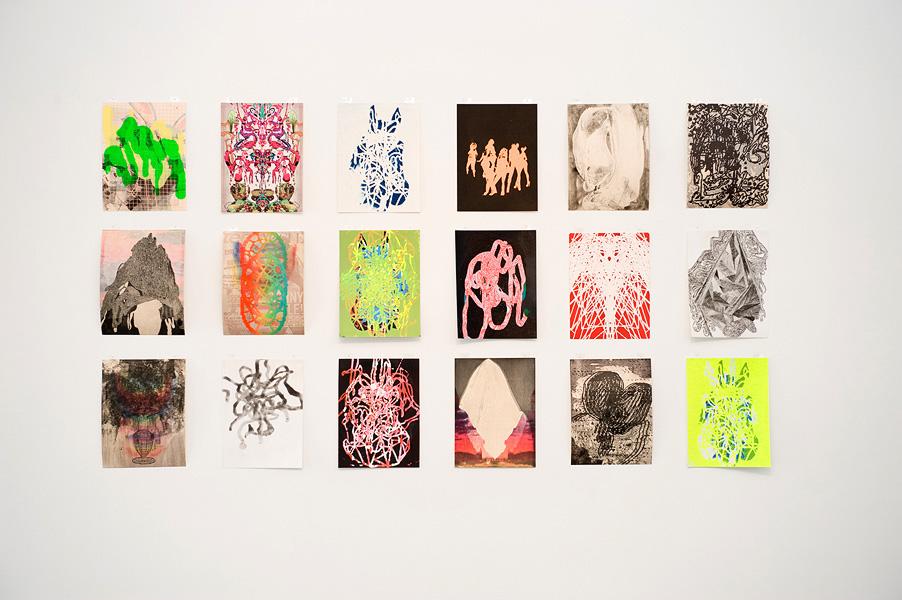 Erik Sandberg, 2011, Image courtesy of the artist and Jonathan LeVine Gallery, New York