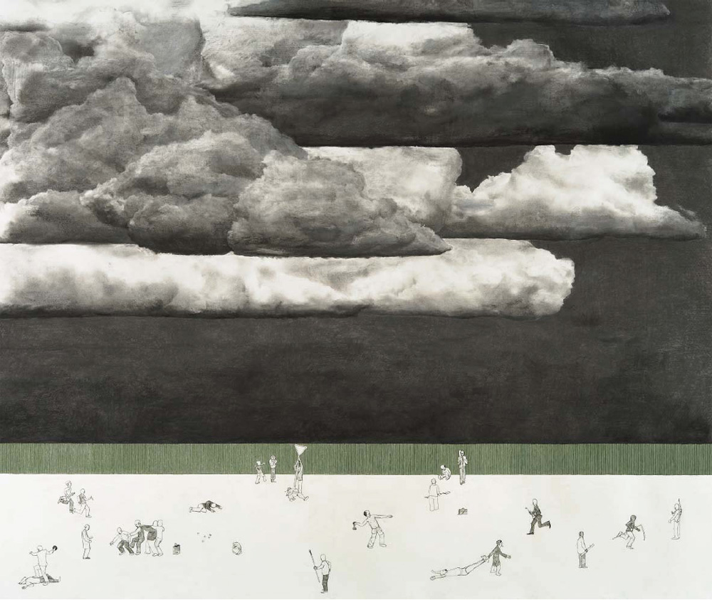 Patrick Nilsson, 'The big darkness', 2007, Pastel, pencil and charcoal on paper, 140 x 160 cm. Courtesy of the artist and the collection of the Museum of Fine Arts, Göteburg, Sweden