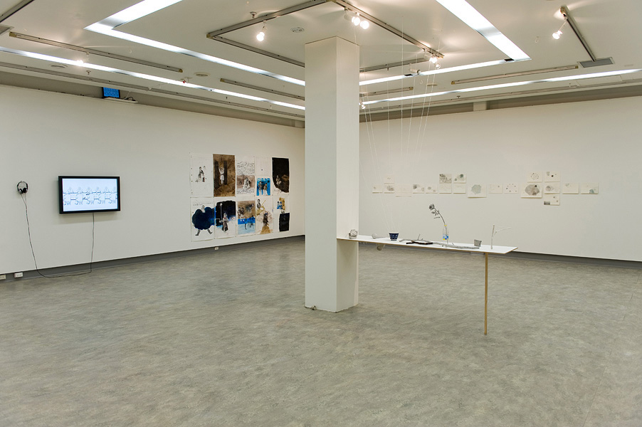 Like No Place Known, Exhibition Installation. 2010
