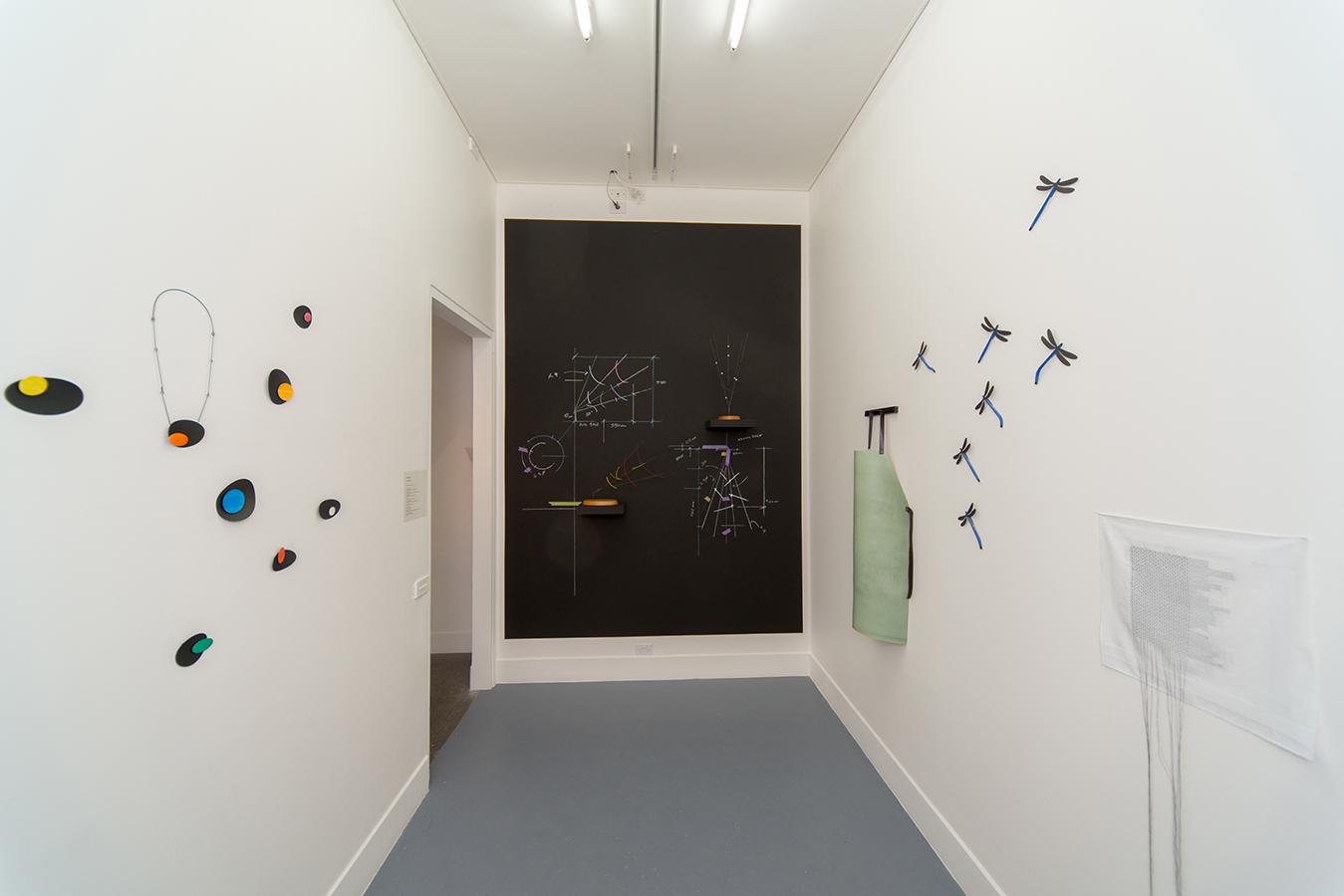 Sue Lorraine, Precisely,  Exhibition Installation 2017