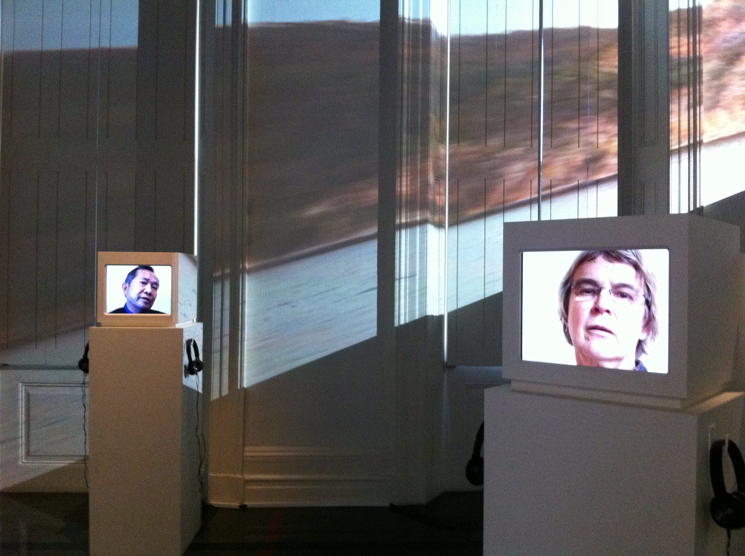 Wendy Woodson, Transitions Project, Digital video and projection installation