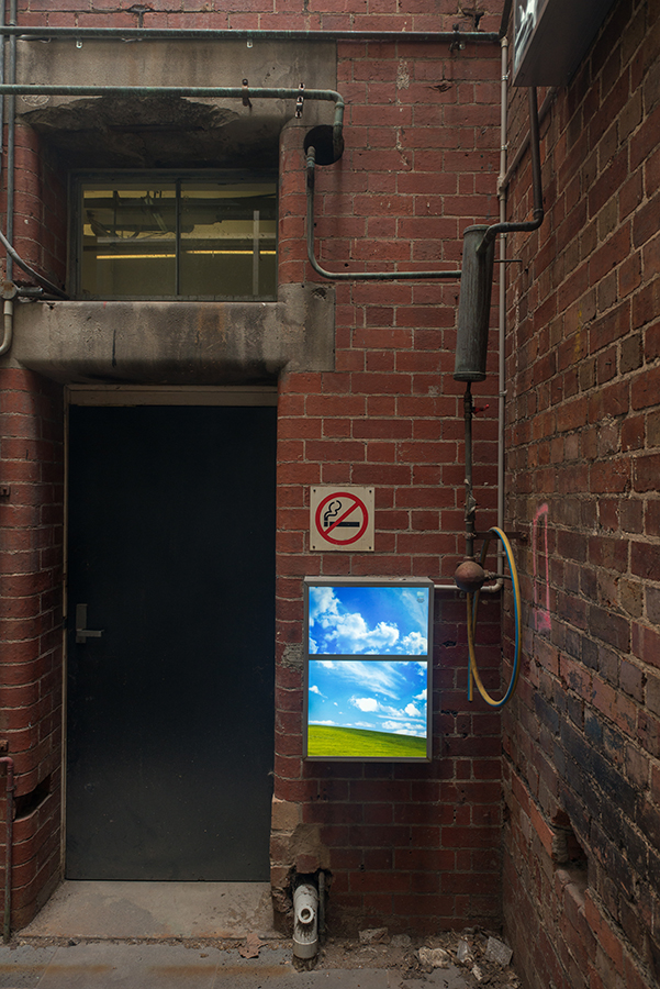 Wend Io Wong (Yoyo),  Encroachment , 2017, Installtion view of LIGHTSCAPES in Lightwell