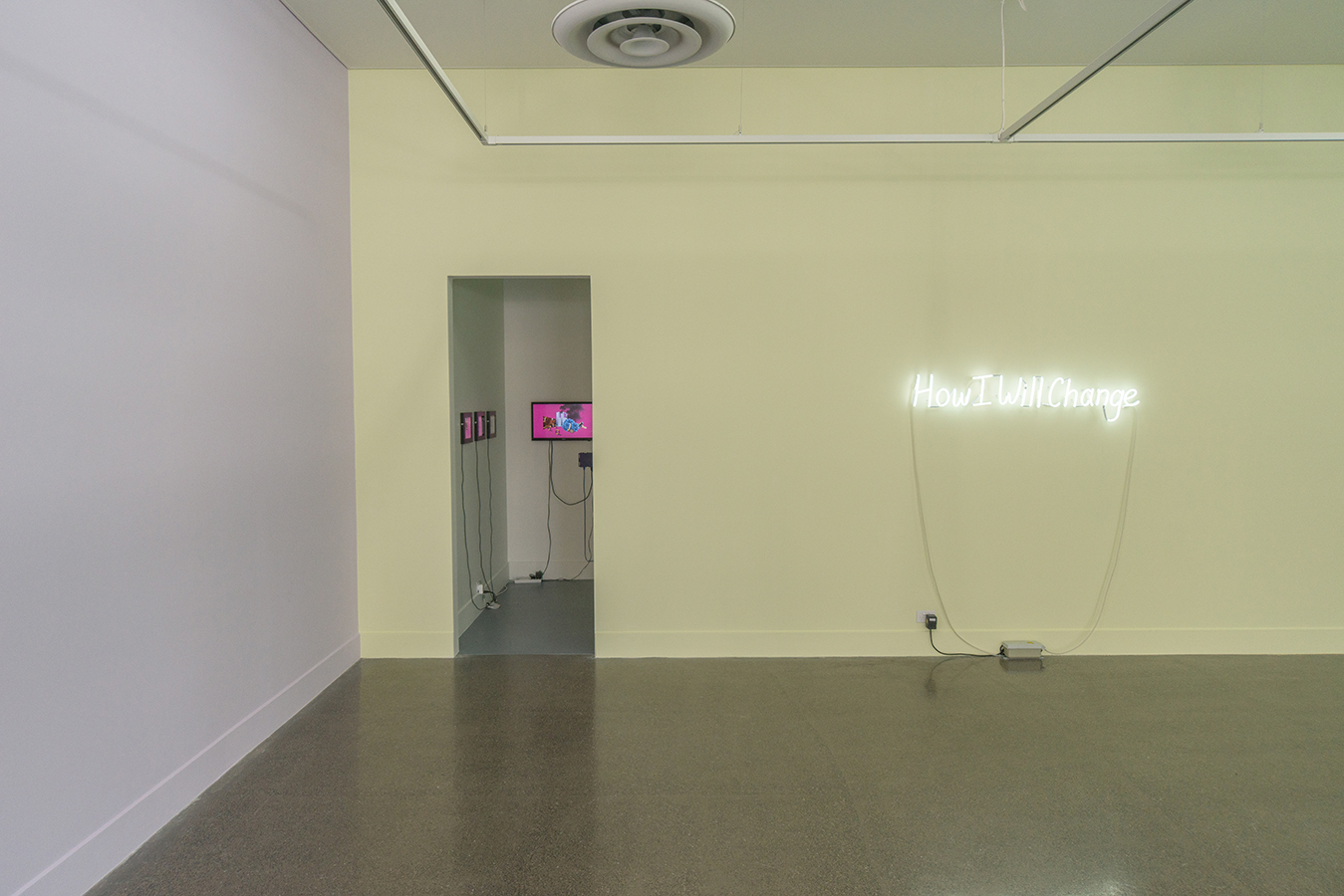 Kate Just, How I Will Change , Installation View, 2018,