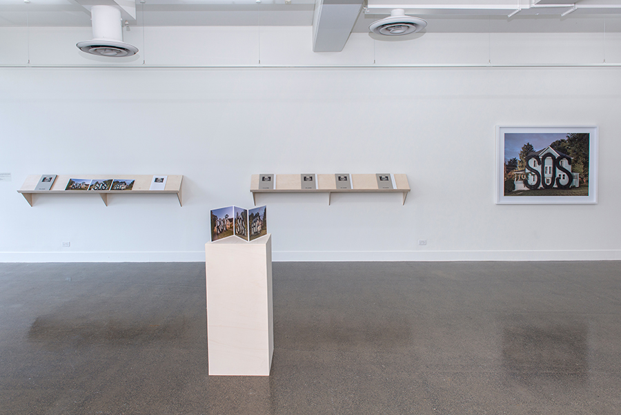 Ian Strange, ISLAND Book Launch Installation View