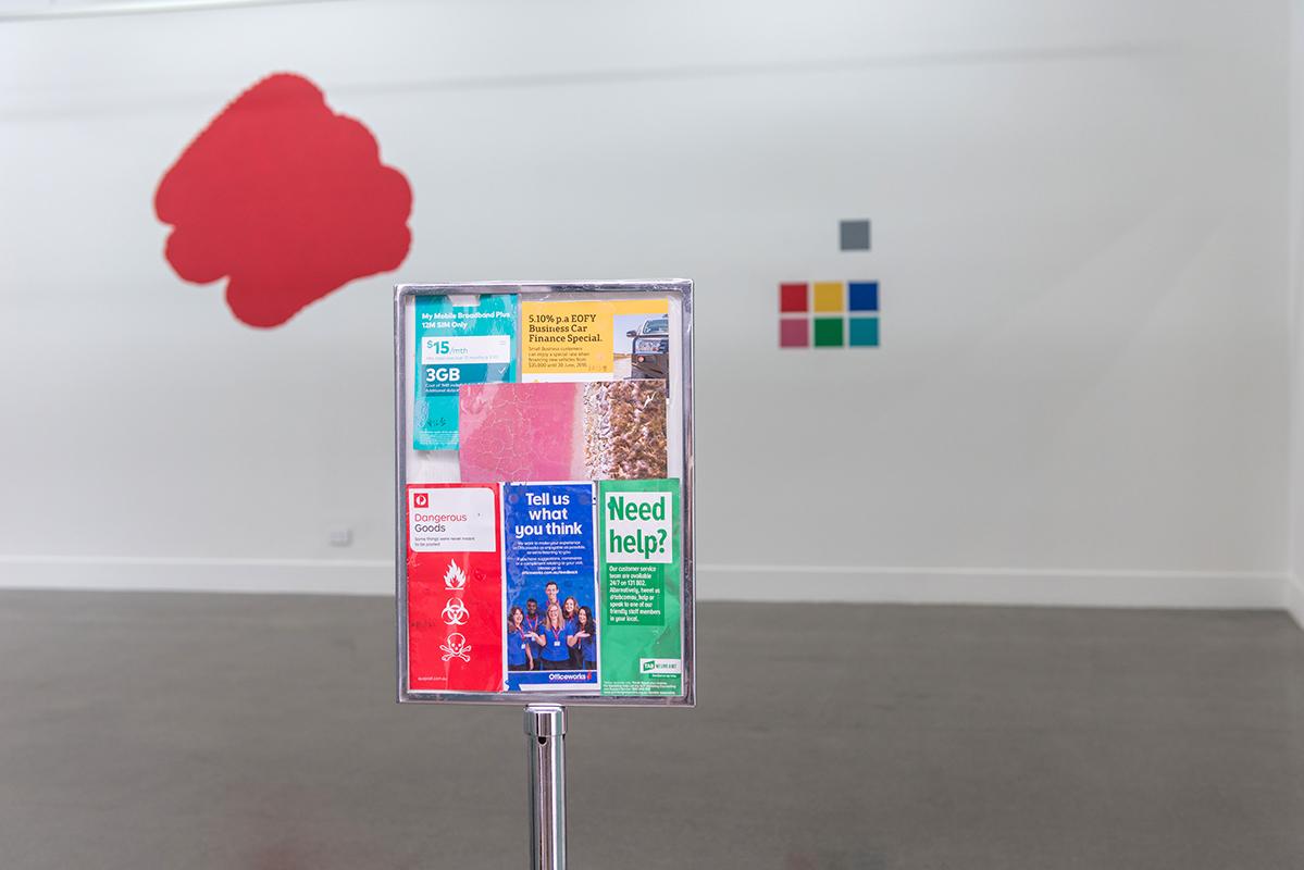 Chien-Ju Chia,  City Colour: Balanced Gray,  2018, installation view.