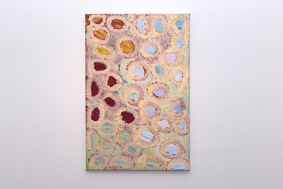 Bugai Whyoulter   Kunawarritji   Acrylic on canvas, 61 x 91cm