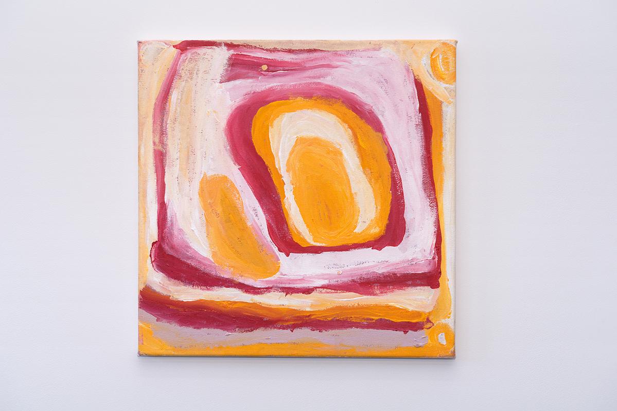 Nora Wompi   Jartijiti   Acrylic on canvas, 61 x 61cm