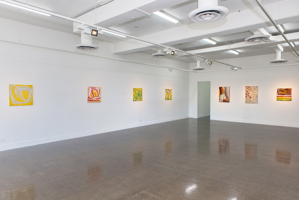 Selected works from Martumili, curated by Dr Damian Smith, installation view