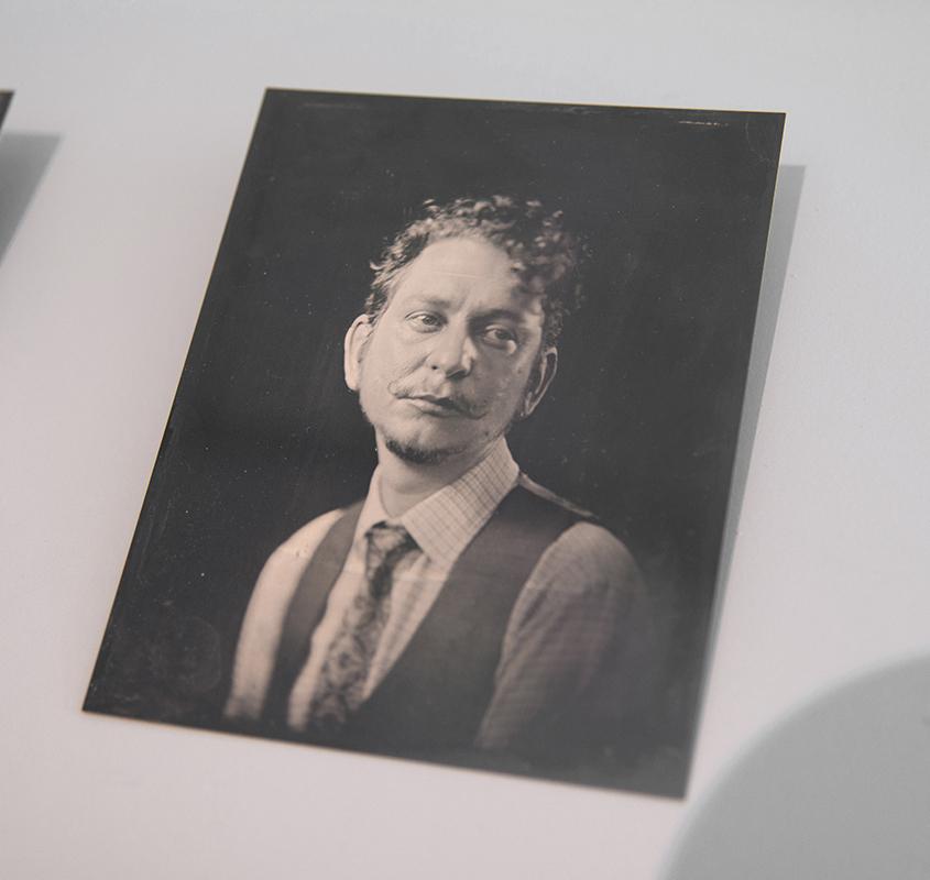 Sophie Caligari,  Untitled , 2019, tintype, photographs, 12.7 x 10.16 cm (each)