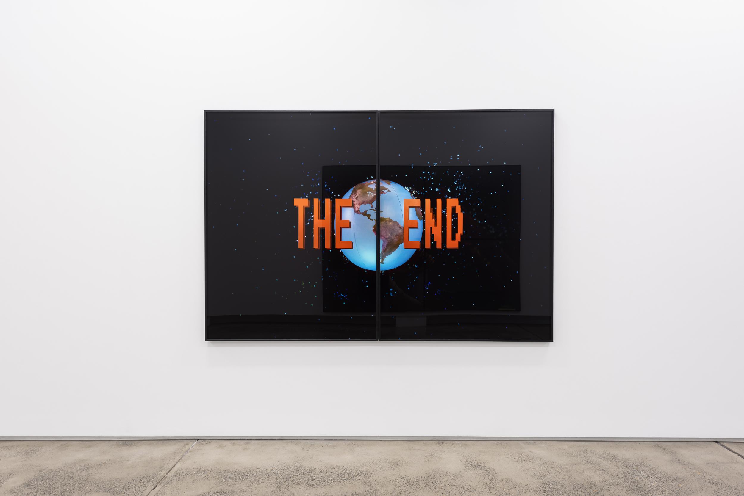 Darren Sylvester,  The End , 2018, 90 x 120 lightjet print
