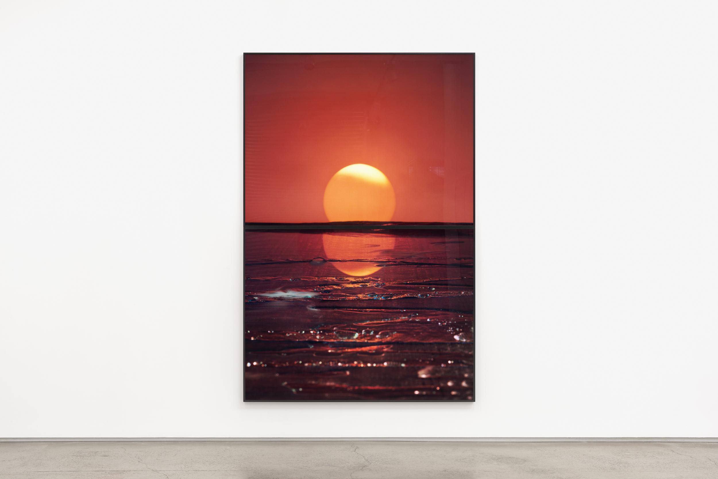 Darren Sylvester,  IKEA Sunrise , 2018, lightjet prints, 240 x 160 cm