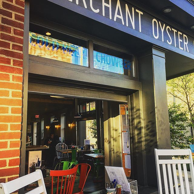 Perfect weather have the windows open!  #alfrescodining #oysters #chowder #clamchowder