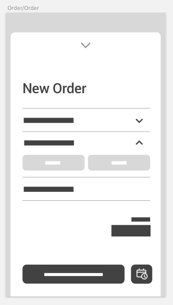 Order card opened.