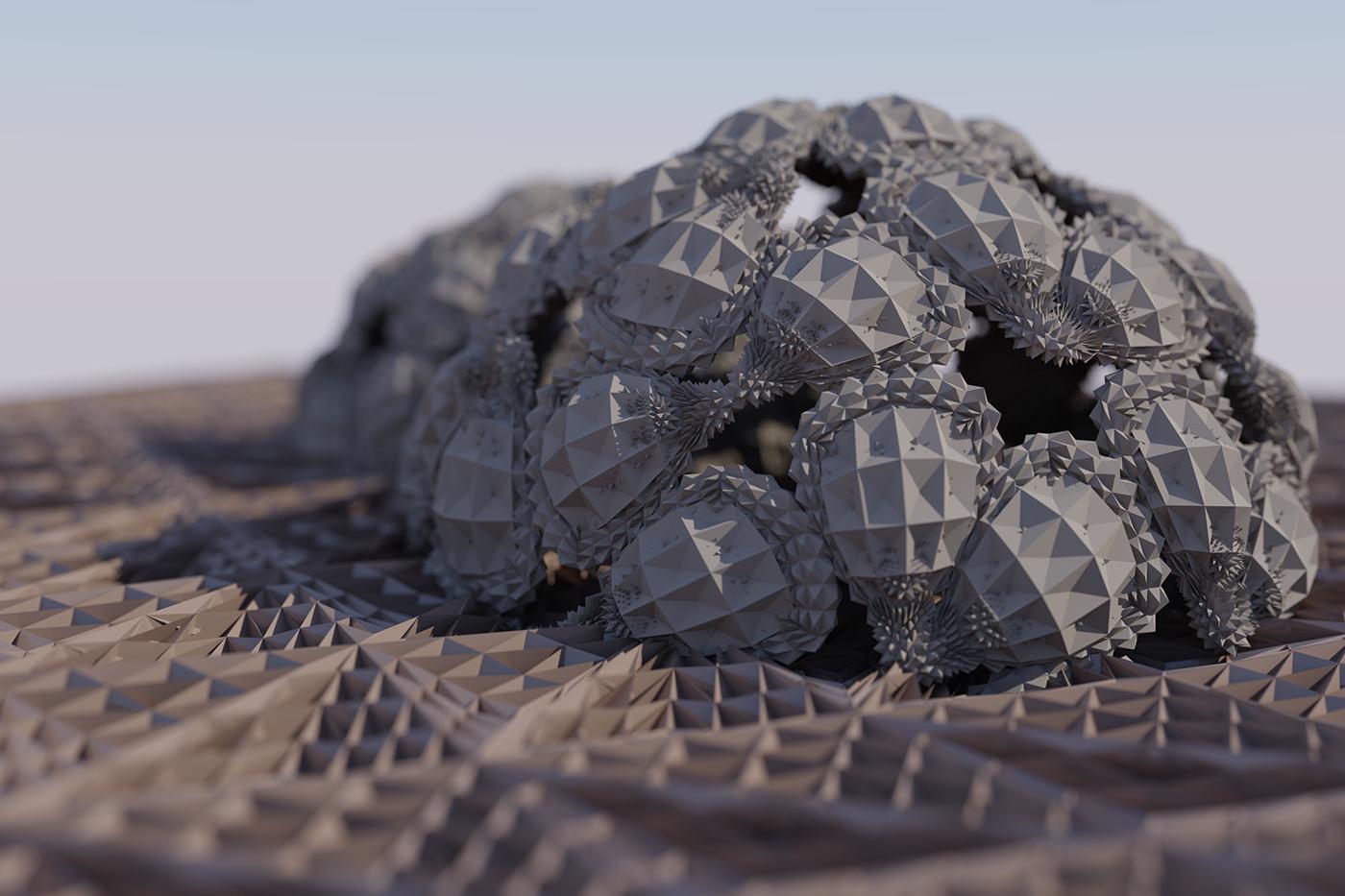 Waffles in a nano assembler.