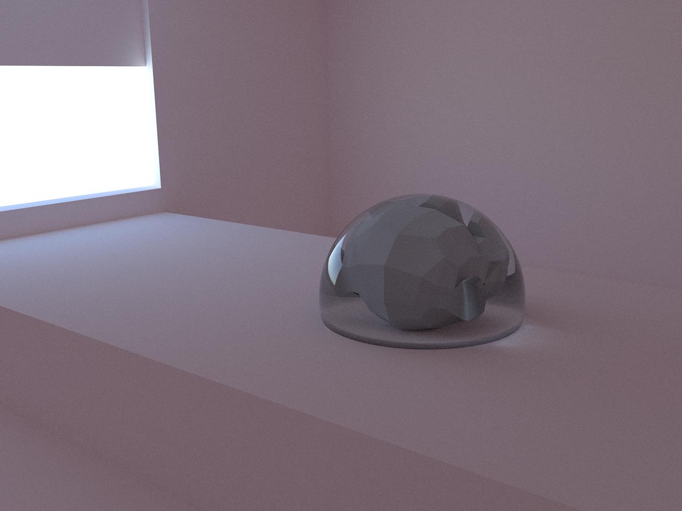 Sometimes simplicity is good; HDRI vs Caustics vs custom glass shaders.