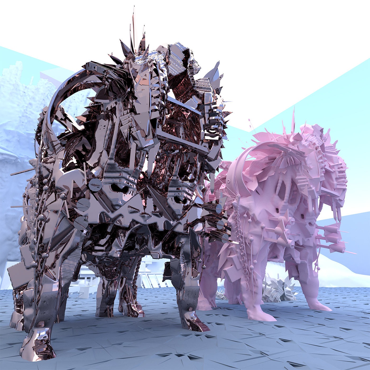 Some material tests from the same horses.