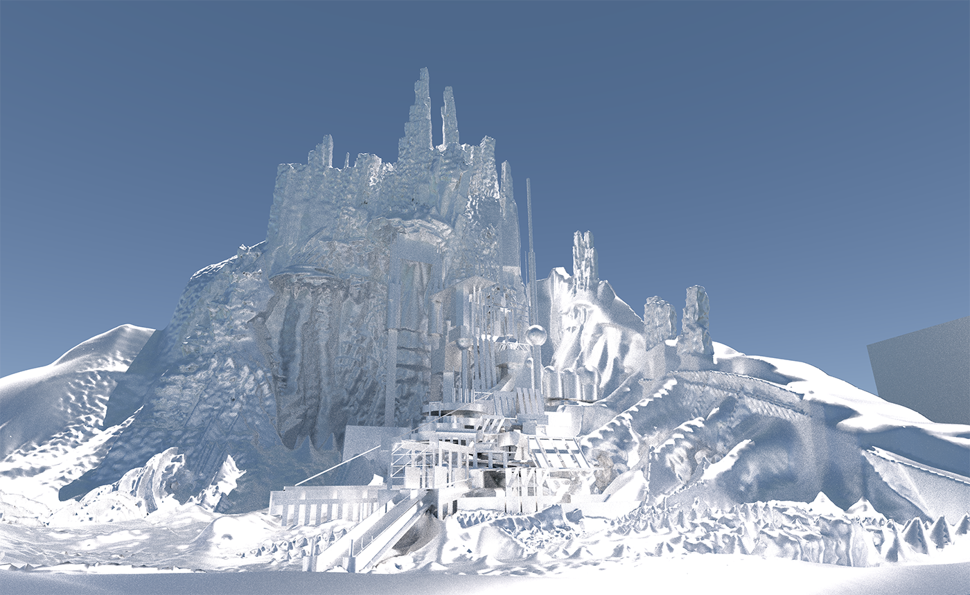 Alps in VR (well, base in VR; purpose unknown).