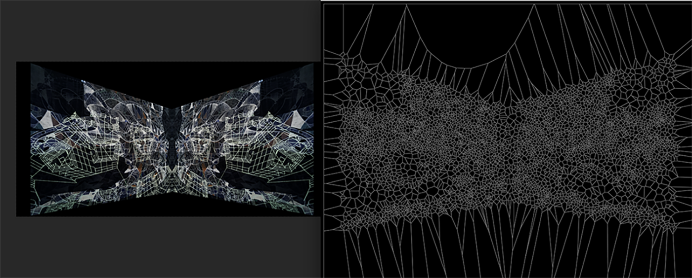 Using Voronoi to dictate imperfections in projected texture baking. Or I don't know, I think that's what this is about.