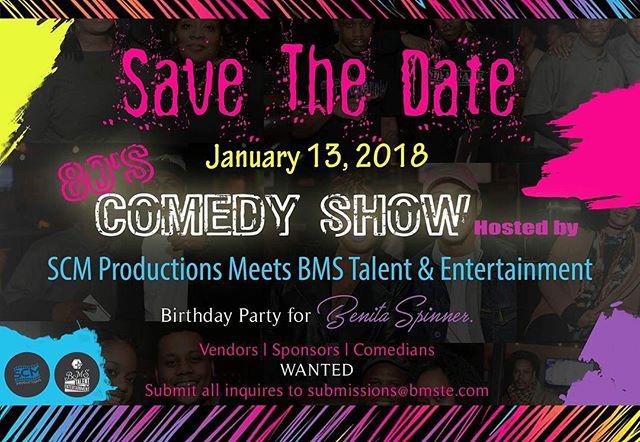 Save the Date #comedy #dmv #va #pa #la