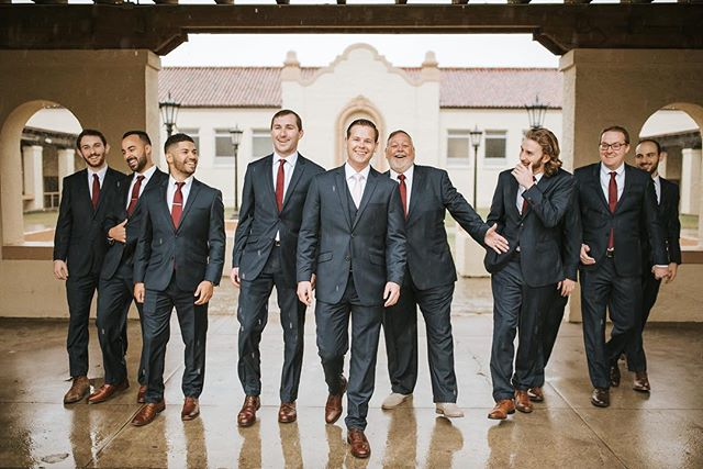 rainy days & location changes didn't phase this wedding party one bit 💁🏼‍♀️🤙🏼 #gulfcoastweddings #biloxiweddingphotographer #sandiegoweddingphotographer #mobileweddingphotographer #weddingparty #groomsmen #theguys