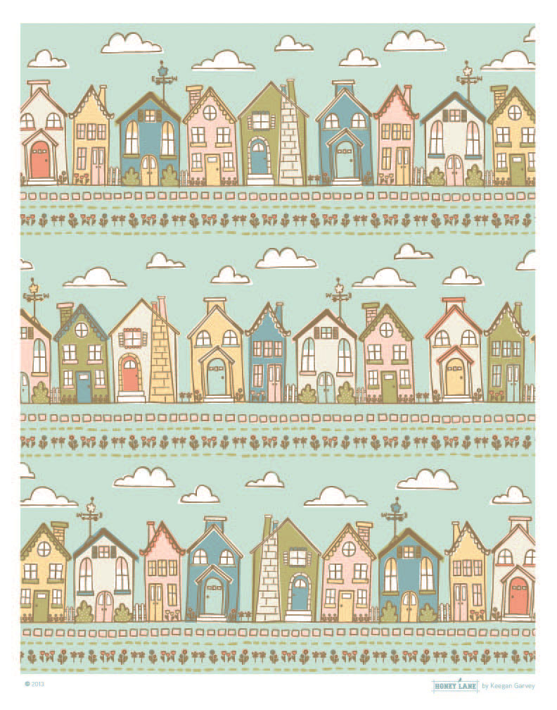 Pretty Little Houses, All in a Row