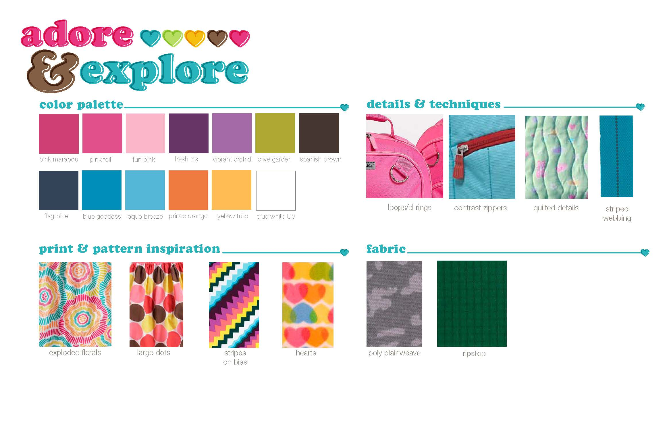 Target Girls Luggage Color & Materials Direction