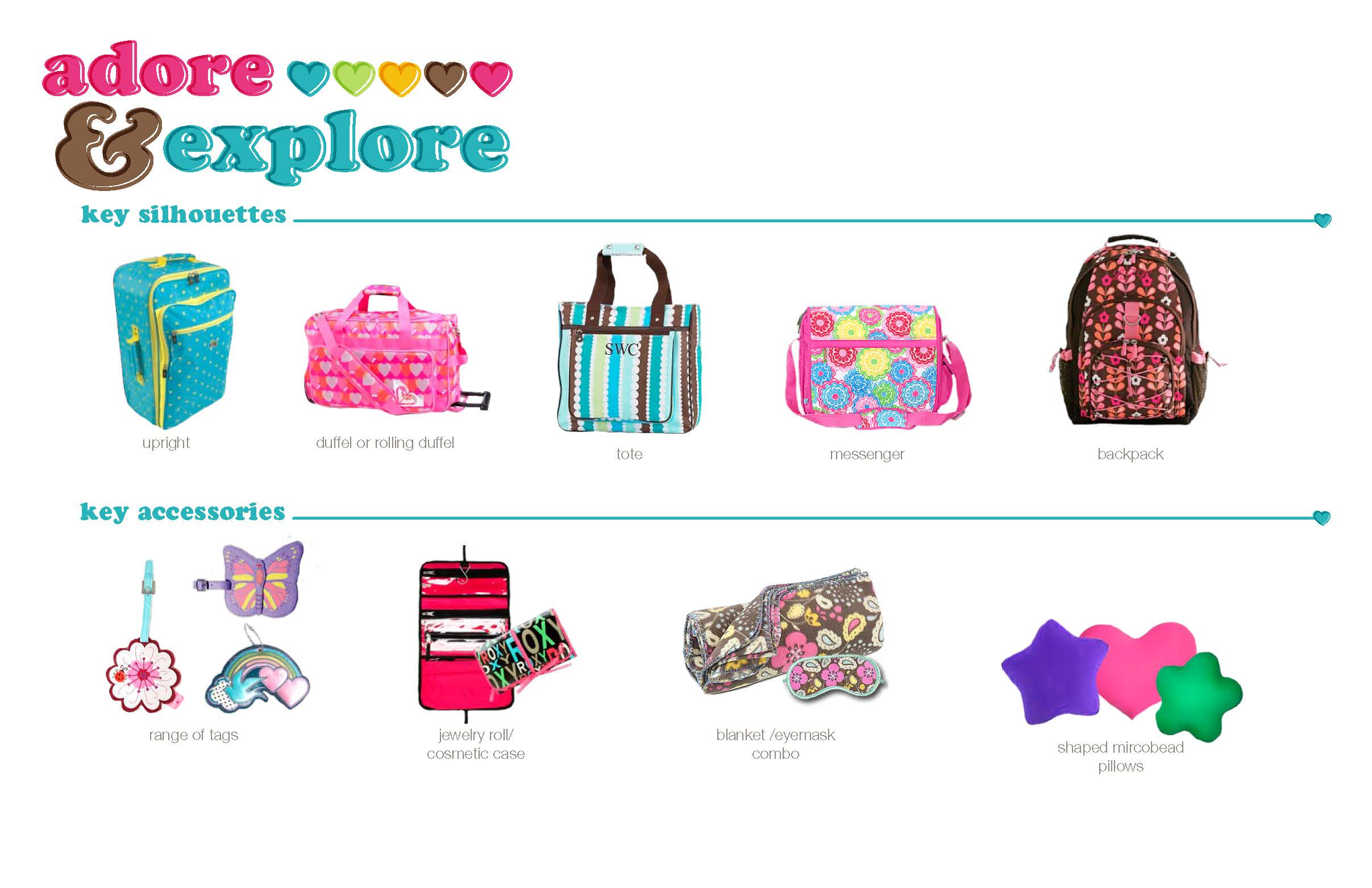 Target Girls Luggage Silhouette Direction