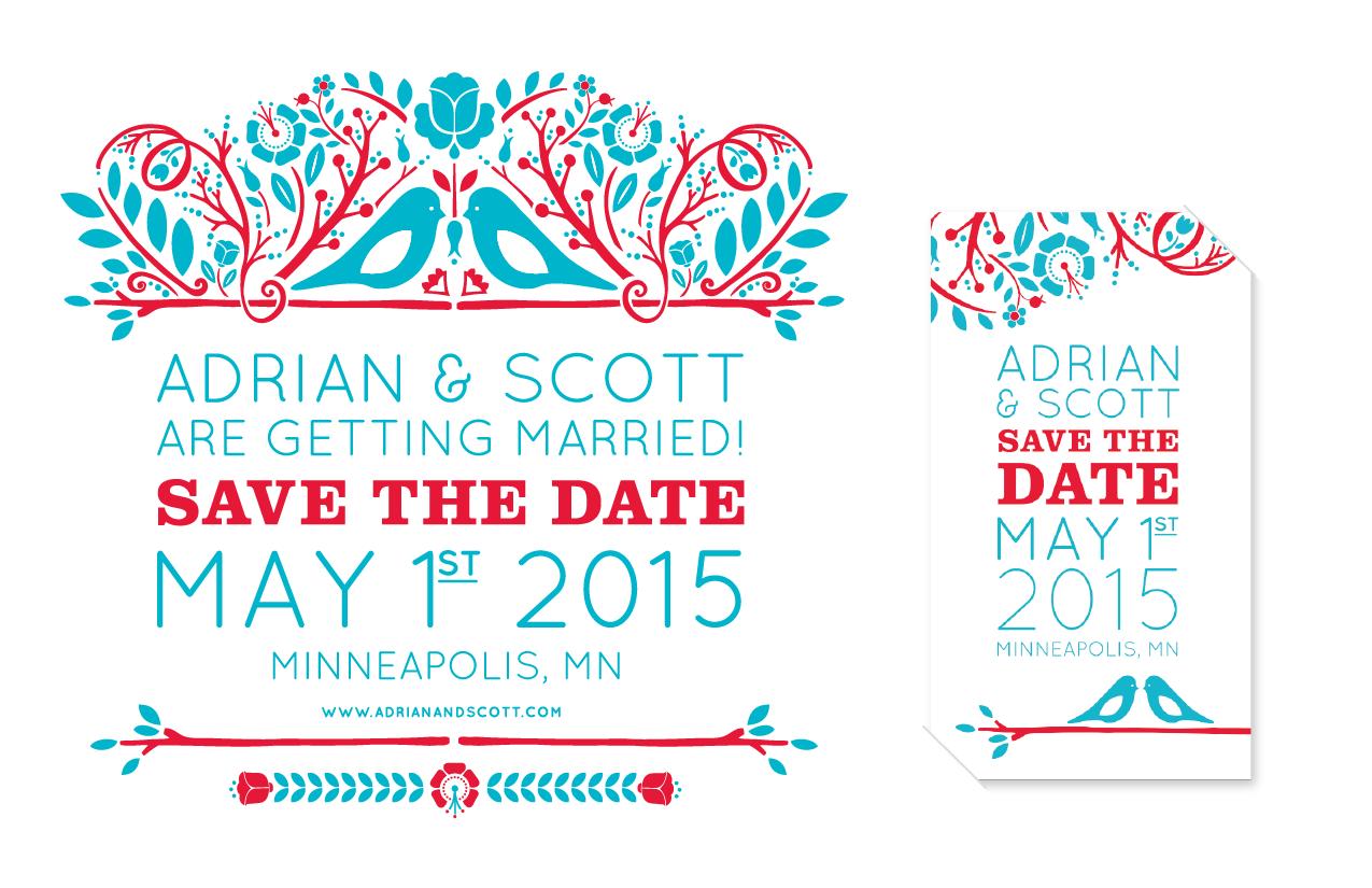 Adrian & Scott Save the Dates