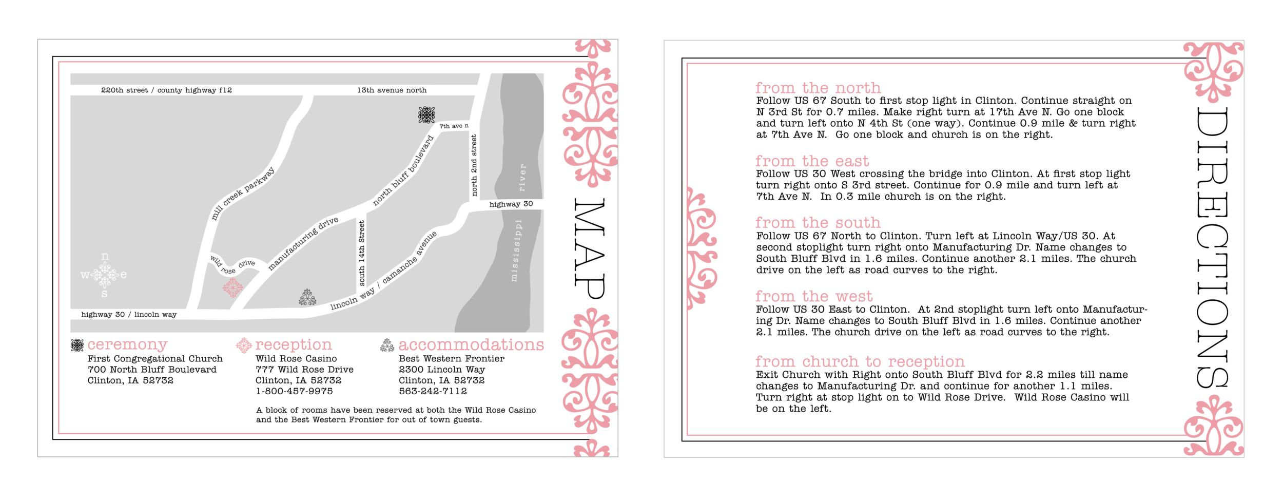 Jill & Brandon Map & Directions