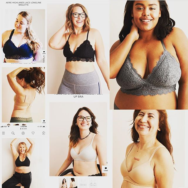 // mad props to aerie for their diverse set of models. I saw my myself in them...stretchmarks, creases, scars, saggy-ness AND beauty! #inclusiverevolution
