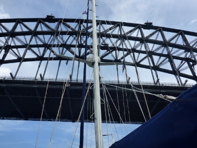 "An extract from the blog:""Motoring under the Harbour Bridge was a proper bucket-list moment yesterday"""