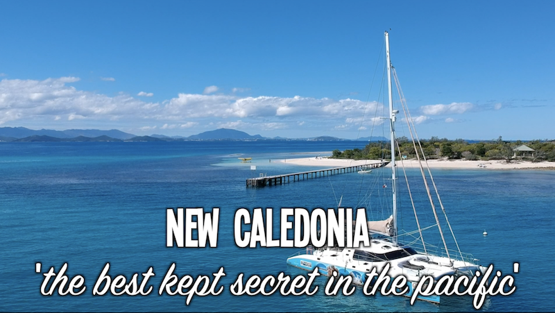 Why New Caledonia ? - Being the closest pacific island country to Australia New Caledonia has much to offer visiting yachts.In fact the Down Under Rally believes New Caledonia is the best kept secret in the pacific.