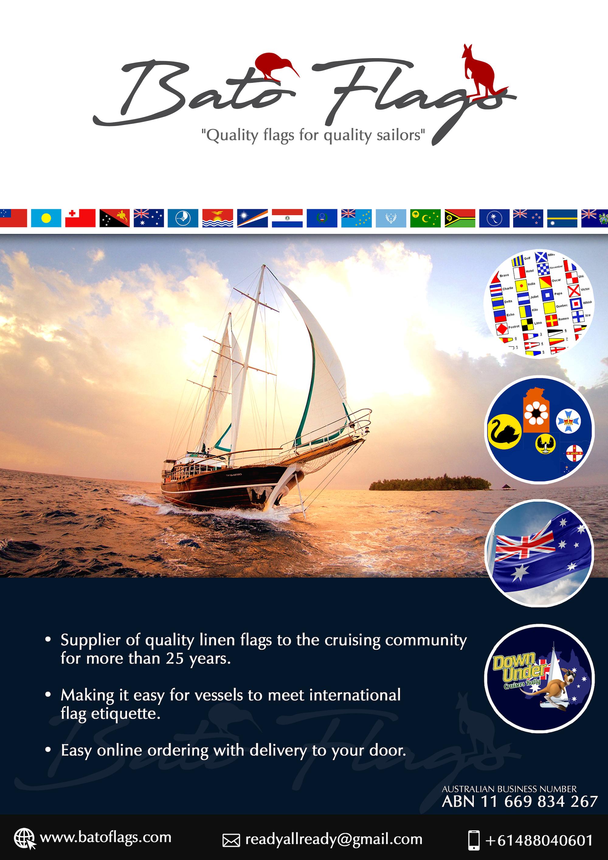 Bato Flags Australia