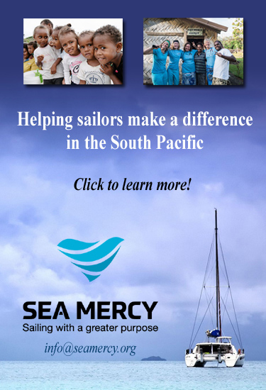 """""""Sea Mercy's remote island programs are not designed as a 'one size fits all' process but to meet the unique and personal desires and capabilities of each vessel/owner. Whether it is restoring sight by providing free reading glasses, the first to deliver emergency aid following a natural disaster or sailing international volunteer medical and dental teams to the 'at risk' remote islands, we have a program to fit your desires."""" Richard Hackett, President & Founder of Sea Mercy -"""
