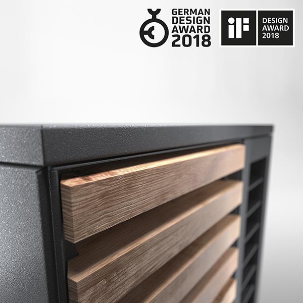Mullistavan esteettinen - System M on ansainnut ylivoimaisella muotoilullaan yli 2000 ehdokkuuden joukosta vuoden 2018 German Design Award -palkinnon kategoriassa