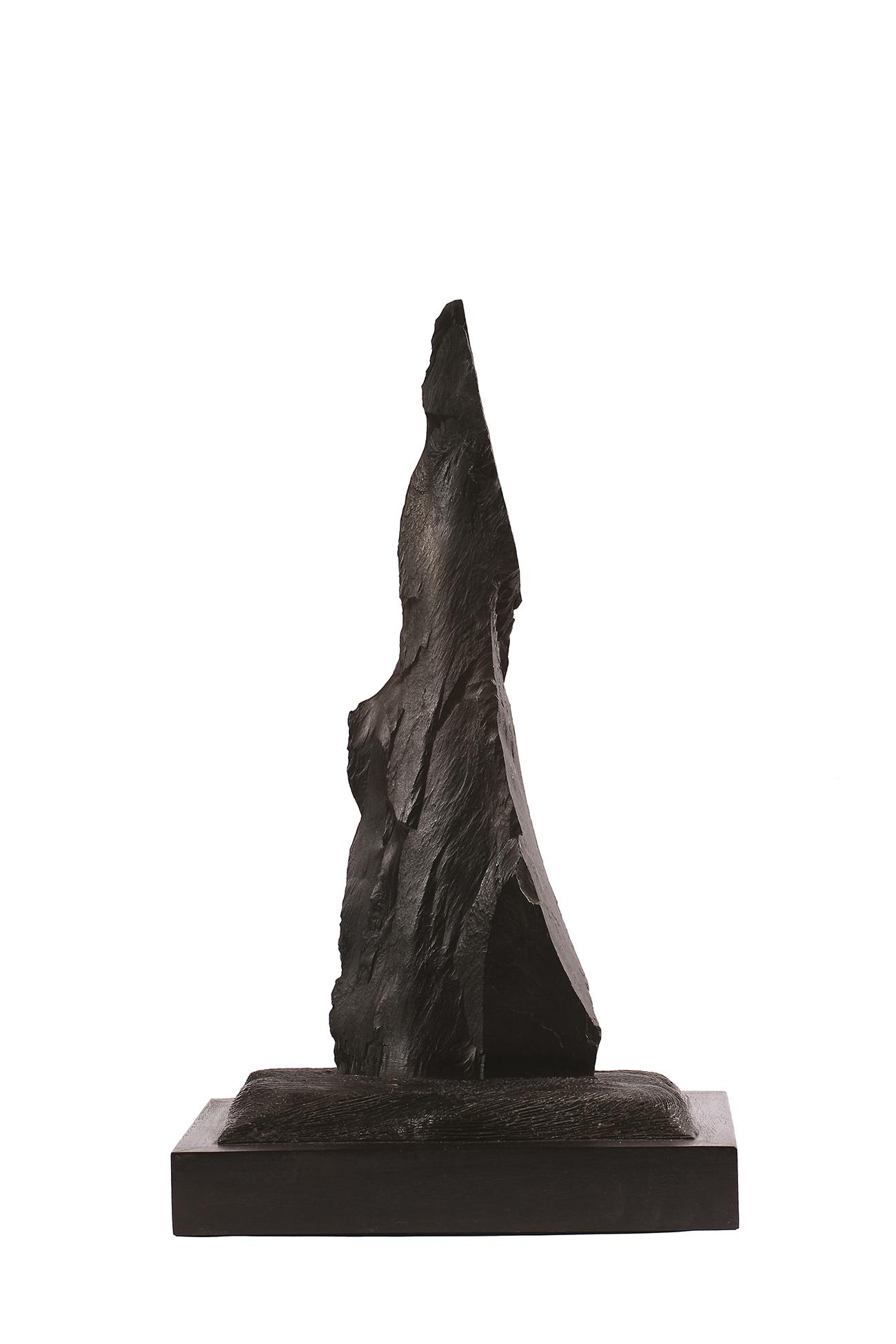 Le garde noir  — H 60 cm - L 23x23 cm
