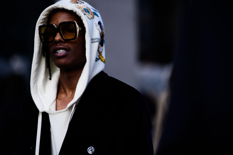 A$AP Rocky in Gucci